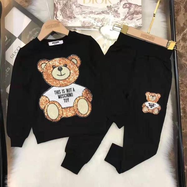 Son varış Avrupa ve Amerikan tarzı Lüks Çocuk Giyim yüksek kalite moda Erkek ve kız Giyim popüler Üst markalar Ücretsiz Denizcilikte