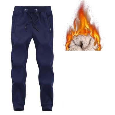 Мужские повседневные спортивные штаны Мужчины Ноги Плюс бархатные толстые штаны Подогреть гвардии штаны Beam Тонкий тенденции моды 2020 Winter Free Shiping