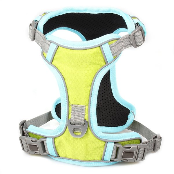 Pet Dogs Breathable Mesh Small Dog Pet Harness And Leash Set Puppy Cat Vest Harness Collar For Chihuahua Pug Bulldog Cats