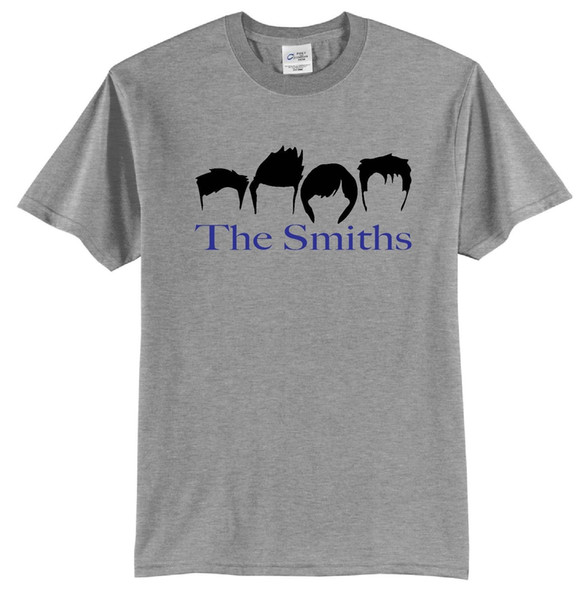 The Smiths T-Shirt Short Sleeve Retro Bands #80's Rock Post Punk New Wave Old In Cartoon t shirt men Unisex New Fashion