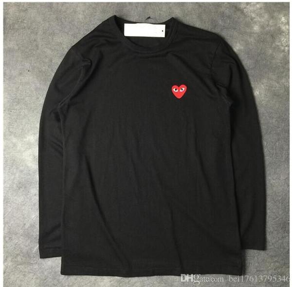 Moda yaz T-shirt Erkekler Streetwear En Tees Kaykay kadınlar uzun kollu T-shirt Pamuk Karışımı Erkekler T-shirt