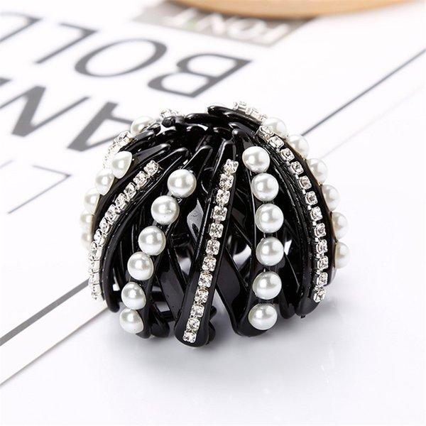white pearl + Bohrer schwarz