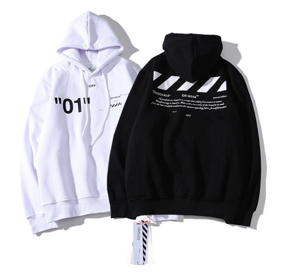 Sweats à capuche pour hommes Sweat-shirts Hommes Femmes Couple Pulls Qualité Coton Casual Confortable Chandail À Capuche Taille M-2XL Blanc Noir