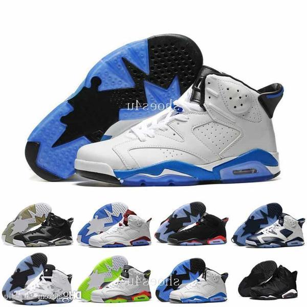 Commercio all'ingrosso 6 Vi Mens Scarpe da basket Infrared 6s Sneakers Donna Uomo 6 Vi Sport Scarpe da basket Gs Valentine S Day Scarpe 4-5-10-1