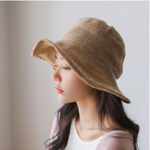 Korean New Basin Hats Pastoral Style Casual Fisherman Summer Small Fresh Shade New Women Shopping Short Hat