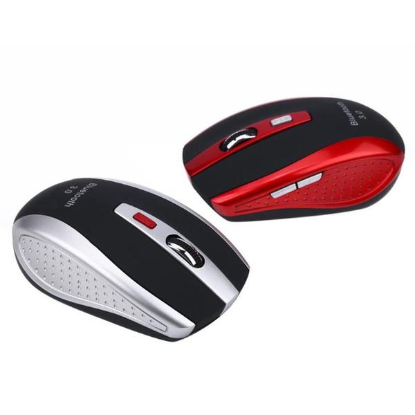 Ratón inalámbrico Bluetooth 3.0 portátil Ratón óptico de alta velocidad 2400 DPI Ratones ergonómicos de 6 botones para PC Tablet portátil