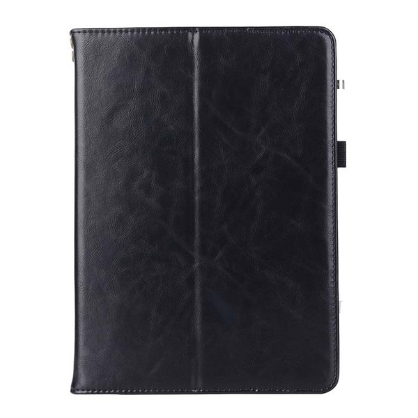 Classic Half Genuine Leather Stand Tablet Cover Case for iPad Pro 9.7 ipad pro 11 Shell cover case Shockproof PU Leather Case