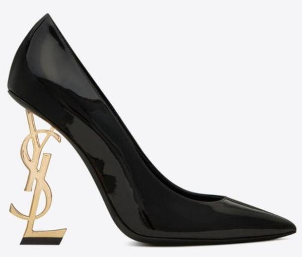 2019 Совершенно новый сексуальный дизайнер обуви женщина лета пряжки ремень заклепки сандалии туфли на высоком каблуке Заостренный носок моды Одиночные высокой пятки насосы