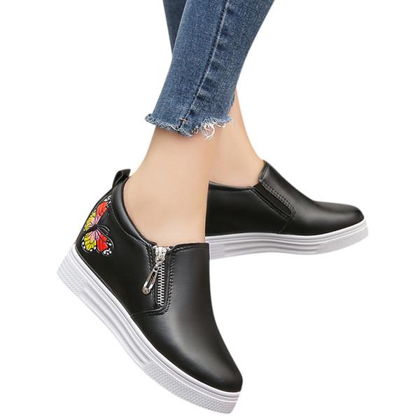 SAGACE Femmes Mocassins Baskets Compensées Casual Sport Dames Chaussure Confort Mode Printemps Eté Femmes Chaussures Casual Designer