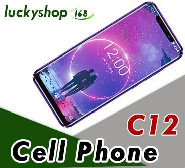 "OUKITEL C12 Face ID 6.18"" 19:9 Smartphone Fingerprint Android 8.1 Mobile Phone MT6580 Quad Core 2G RAM 16 G ROM 3300mAh Unlock DHL 5pcs"