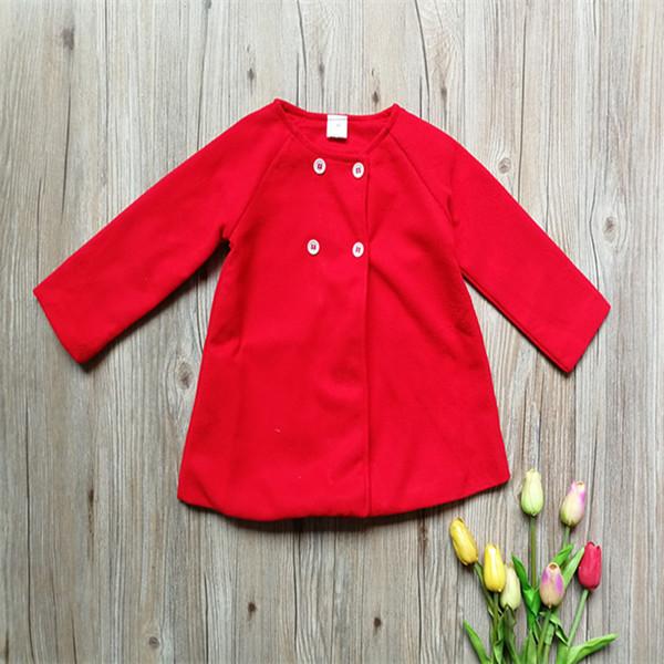 Bady Gilrs Cappotti bambino infanti Polar Fleece mantello alti giacca bambini Trench Winter Dress caldo Outwear Principessa cappotti A110701