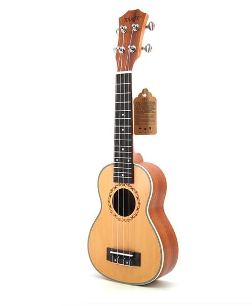 freies Verschiffen spezielle 21-Zoll-Ukulele kleine Gitarre Ukulele Ingman Spruce Anfänger Eintrag Instrument