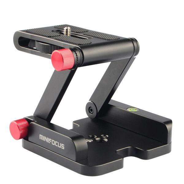 2019 MINIFOCUS Folding Z Flex Tilt Head Aluminum Alloy Camera Bracket With  Spirit Level For DSLR Camera Camcorder Tripod Slide Rail From Knite08,