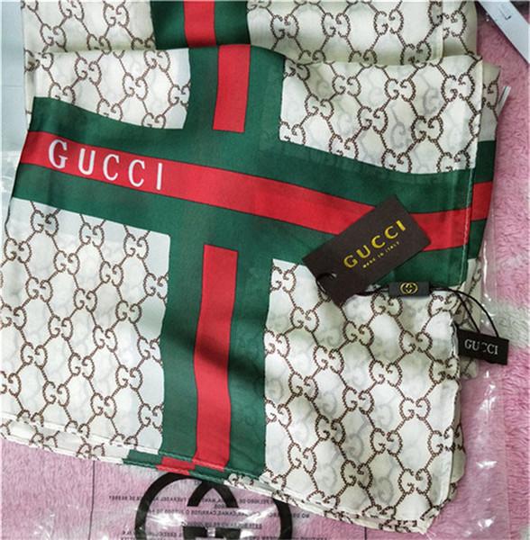 20 couleurs en gros designer de luxe écharpe impression de mode écharpe douce plage châle femelle écharpe décorative 190 * 90 cm