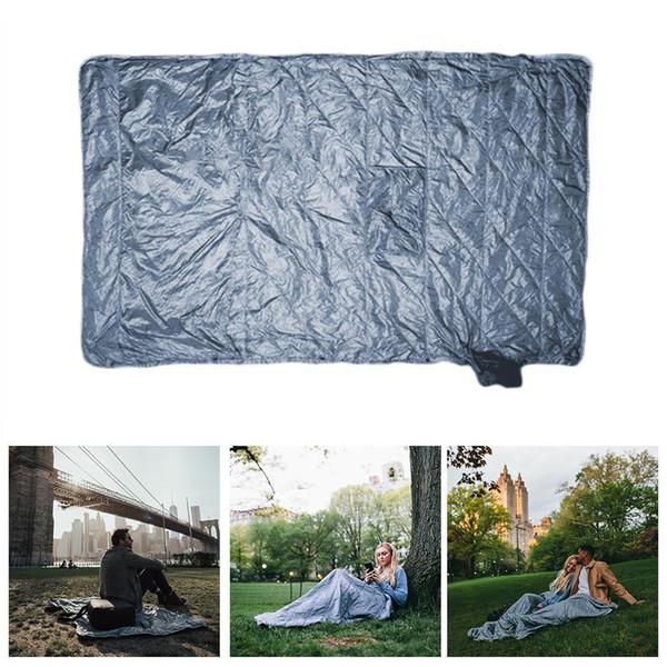Couverture de Voyage Portable Couverture de Sports de Plein Air Imperméable Antistatique Multifonctionnel Camping Camping Tapis Dropship