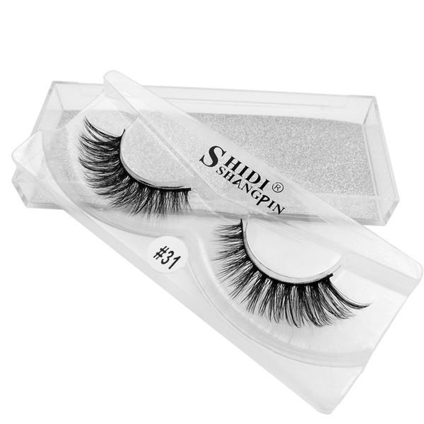 3D High grade Mink Eyelashes False lash 1 pair lot Super Natural Thick Long curl mixed styles Free shipping