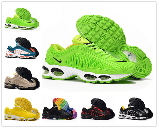 Plus III 3 Nike Air Max TN KPU Hombre desig TUNED air Zapatillas para correr Clásico al aire libre tn Negro Blanco Zapatillas de deporte deportivas Shock Men requin Spider Shoes
