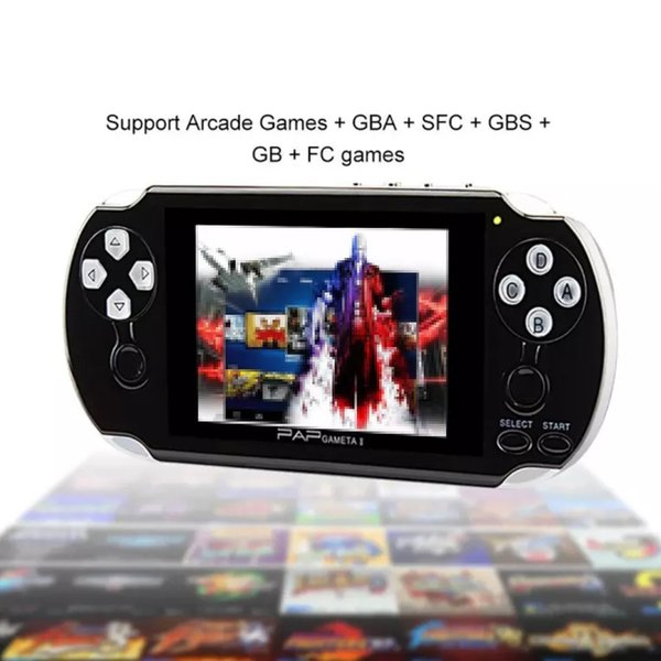 PAP Gameta II Plus 4GB HDMI 64Bit Games MP4 MP5 TV Consolas de juegos Portátil portátil Reproductor de juegos Salida de cámara Cámara E-Book PVP Pxp3 PVP GB Boy