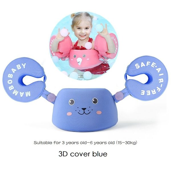 3D Arm float blue