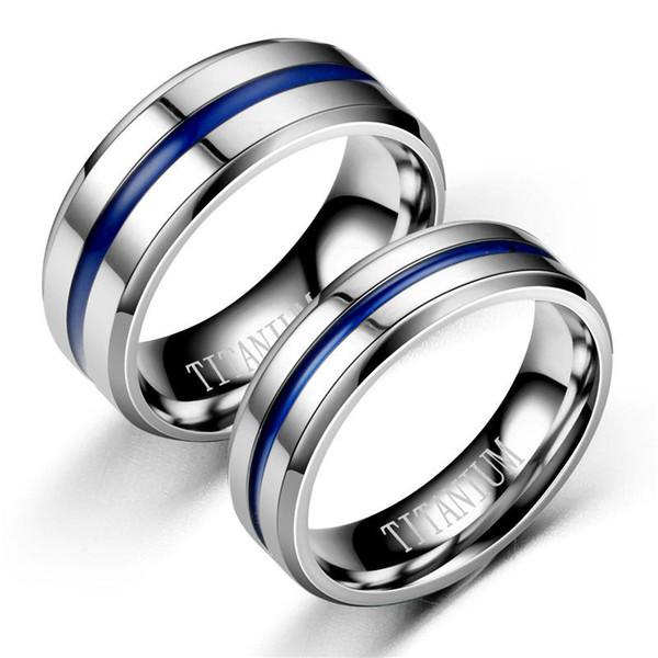 Очарование пара кольца 316L Титановая сталь серебро золото кубический цирконий обручальное кольцо обещание обручальное женщина ювелирные изделия
