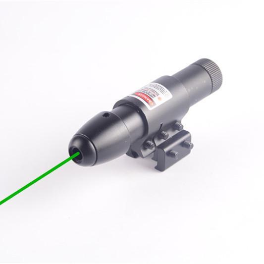 CBSEBIKE Tactical Red Green Dot Laser Mirino per Fucile Pistola Weaver Mount 22mm Rail Airsoft Caccia Strumenti Accessori