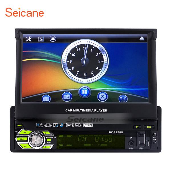 Seicane Apuramento 1 Din 7 polegada WINCE 6.0 Player Multimídia Carro GPS Para Suporte Universal DVD MP5 USB SD Bluetooth