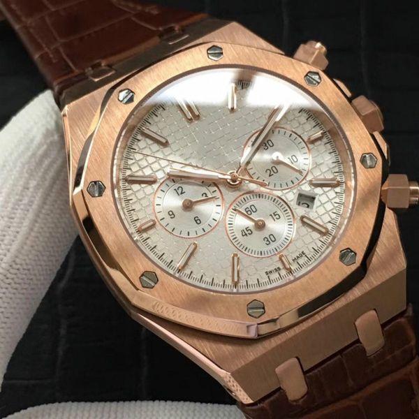Relojes para hombre de lujo PA reloj automático reloj de marca famosa moda 42 mm cara impermeable reloj para hombre de alta calidad