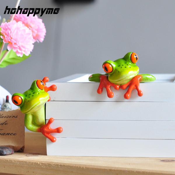 2017 nuovi animali artificiali artigianato creativo kawaii micro paesaggio personalizzato rana figurine decorazione C19041601