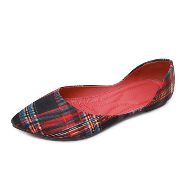 Nuevos zapatos planos de mujer 2019 primavera mocasines nubuck casuales para mujer de verano Flor tela plana zapatos puntiagudos sapatos femininos. SKT-021