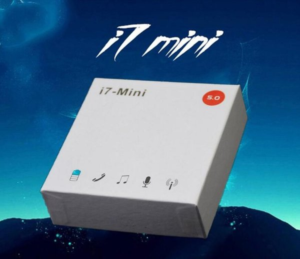 top popular DHL Free Shipping i7Mini i7s Wireless Bluetooth Earphone Earbuds Bluetooth 5.0 Headsets with Charging Box For i7s i9s i12 HOT 2020