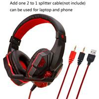 PC headset_red