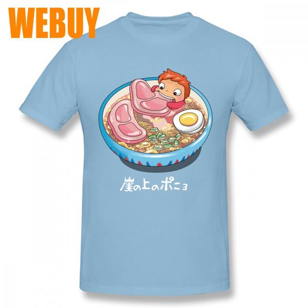 Camiseta de baño de fideos barata para imagen masculina cuello redondo personalizado manga corta impresión 3D 100% algodón transpirable
