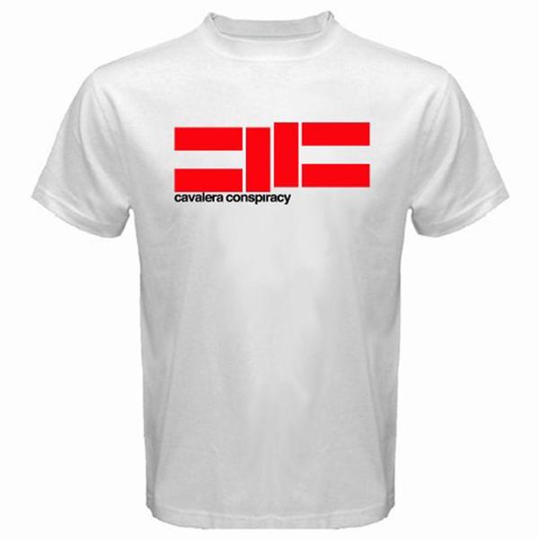 New CAVALERA CONSPIRACY Metal Rock Band Men's White T-Shirt Size S - 3XL