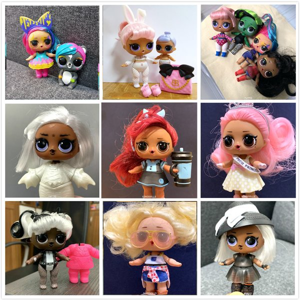 top popular New Arrival Series 5 Doll Toy With Pretty Hairs Color Change Dolls Toys For Girl Best Xmas Birthday Gifts High Quality 2020