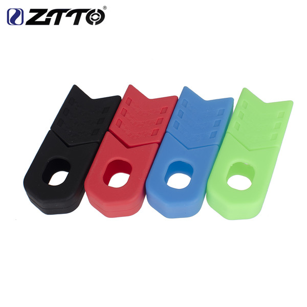 top popular ZTTO 4pcs MTB Road Bike Crank Protector Carbon Crankset Silicone Gel Cover Protective Sleeve Bicycle Boots Bicycle Accessories 2019