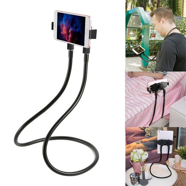 Lazy Neck Phone Holder Hanging Stand for iPhone Universal Cell Phone Desk Mount Bracket for Samsung Xiaomi Gooseneck Flexible Phone Holder