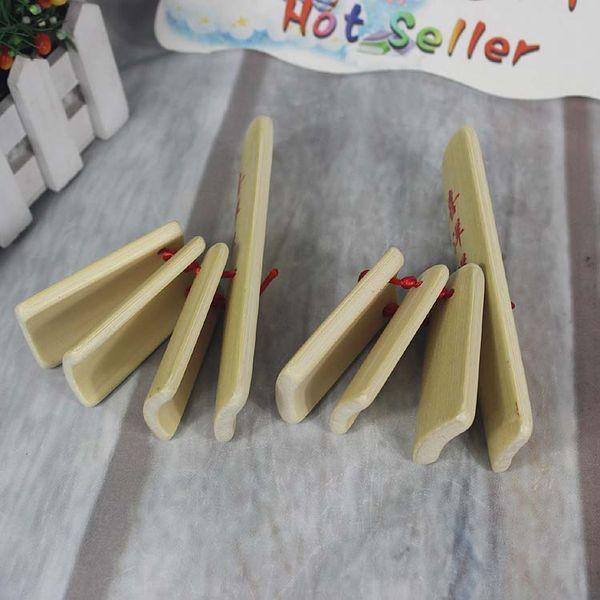 Envío gratuito de bambú natural niño pequeño allegro etapa rendimiento de madera de bambú juguete soplado