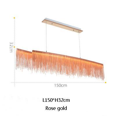 L150cm de oro rosa