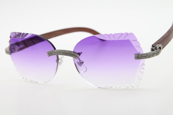 Silver Purple Lens
