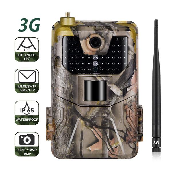 Camme senza fili della fauna selvatica mobile cellulare della macchina fotografica infrarossa HC900G 16MP 1080P della traccia di caccia di SMS MMS SMTP 3G
