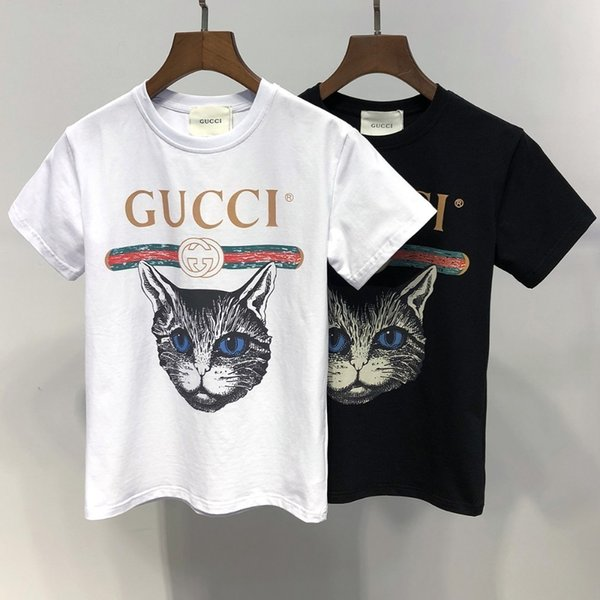 2019Crianças Roupas de Grife Menina Baby Boy Moda Imprimir Cotton6847 Designer De Roupas Mens Designer T-shirt Respirável Marca de Moda de Luxo