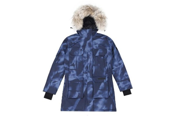 Luxury Down Jacket Parka Canada Brand Mens Designer Jackets Vests Men Women High Quality Winter Down Mens Designer Big Fur Coat Outerwear