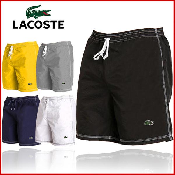 018 New Mens Shorts Casual Solid Color Board Shorts Men Summer style Beach Swimming Short Men Sport Shorts