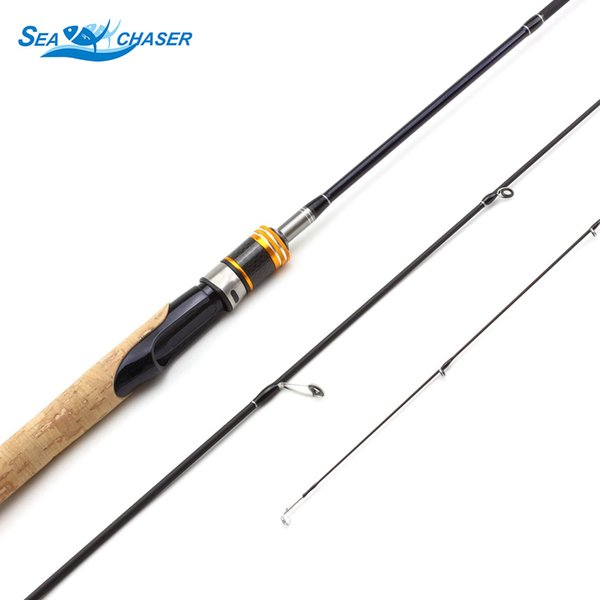 1.8m wooden handle Ultra light Spinning Casting Fishing Rod lure rod 2 Tips ul power 1.5-5g line wt 3-6Ib lure weight