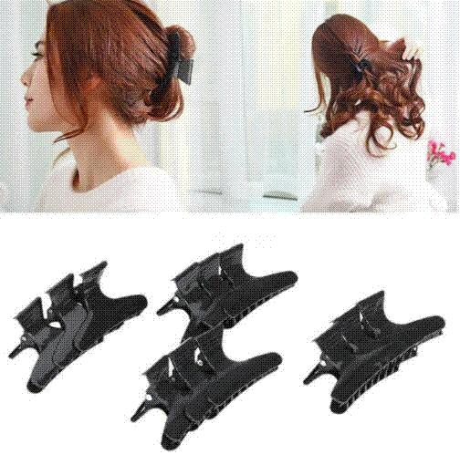 12pcs/set Butterfly Holding Hair Claw Section Styling Tools Hair Clip Clamps Care Hairpins Pro Salon Fix Hair Hairdressing Tool