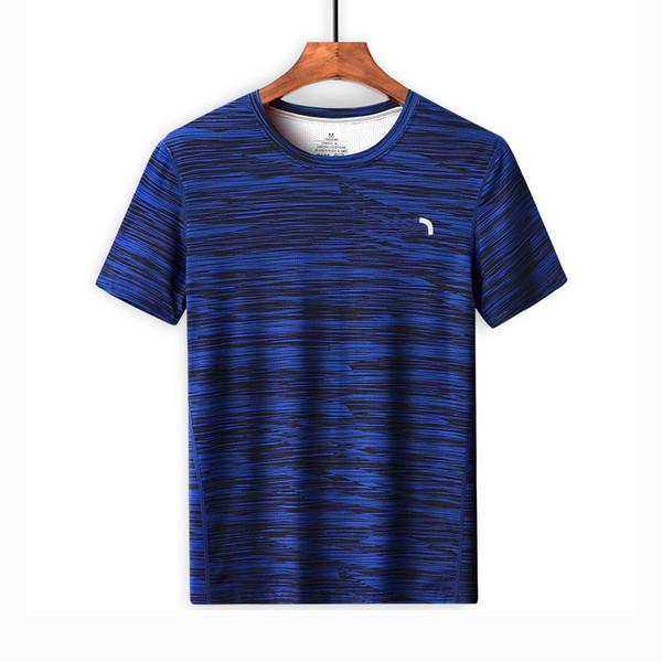 2019 Mens Tshirts Designer Fashion Blouse Black Blue Brand Summer Tees Print O Neck Casual Quick Dry Sports Tshirt M-5XL 5559