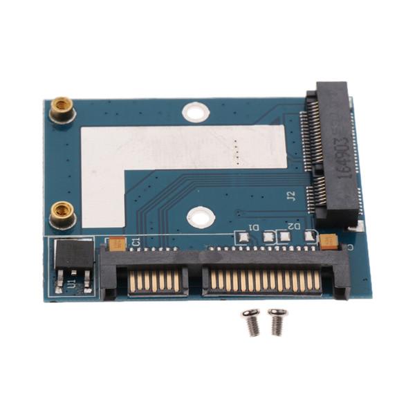 top popular MSATA SSD to 2.5'' SATA Adapter Converter Card Module Board Support 5cm SSDs 2021
