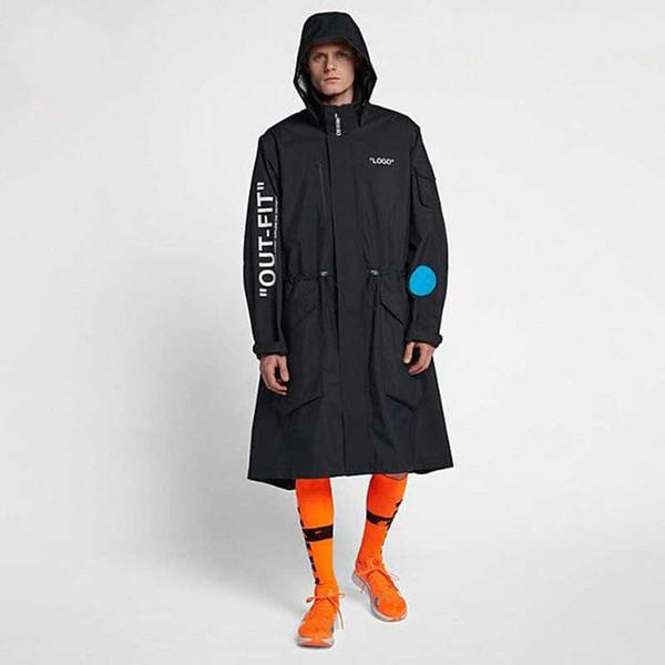 Nikelab x OFF WHITE Mercurial NRG X Jacket Jacket Black