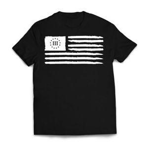 Maglietta American Flag BlaShort-Sleeve amp White Maglietta Merica USA Patriotic Gun New Mens Tee 2020