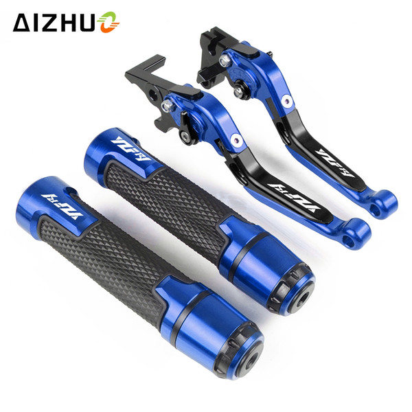 Motorcycle Handle Grips Adjustable Folding Brake Clutch Lever For Yamaha YZF R1 YZFR1 2009 2010 2011 2012 2013 2014 2015 2016 17